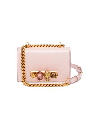 Main View - Click To Enlarge - ALEXANDER MCQUEEN - Mini jewelled satchel