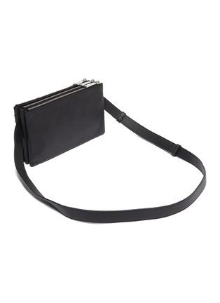 Detail View - Click To Enlarge - BOTTEGA VENETA - Intreccio leather crossbody bag