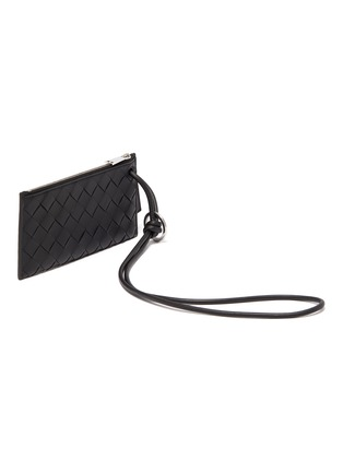 Detail View - Click To Enlarge - BOTTEGA VENETA - Intreccio leather wallet with a card case