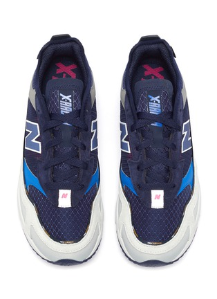 Detail View - Click To Enlarge - NEW BALANCE - 'X-Racer Cordura' colourblock sneakers
