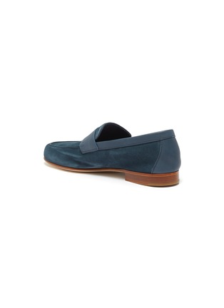 - JOHN LOBB - 'Hendra' suede penny loafers