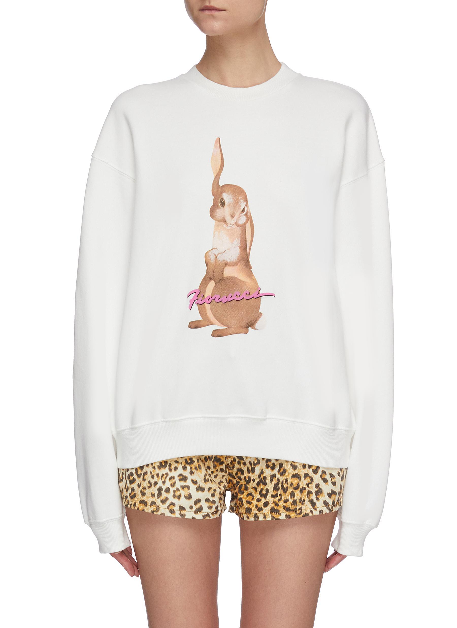 shop Fiorucci Bunny print sweatshirt online