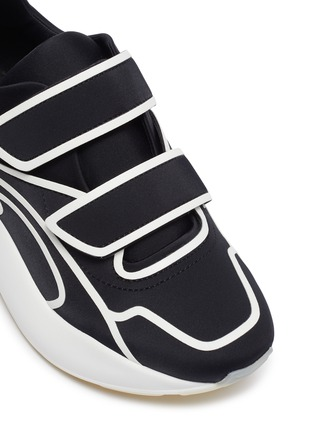 Detail View - Click To Enlarge - STELLA MCCARTNEY - 'Eclypse' contrast outline sneakers