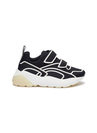 Main View - Click To Enlarge - STELLA MCCARTNEY - 'Eclypse' contrast outline sneakers