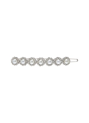 Main View - Click To Enlarge - CZ BY KENNETH JAY LANE - Pearl cubic zirconia hair pin