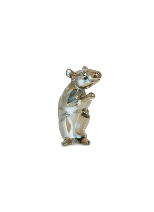 Main View - Click To Enlarge - BACCARAT - Zodiaque Mouse 2020 Crystal Sculpture – Gold