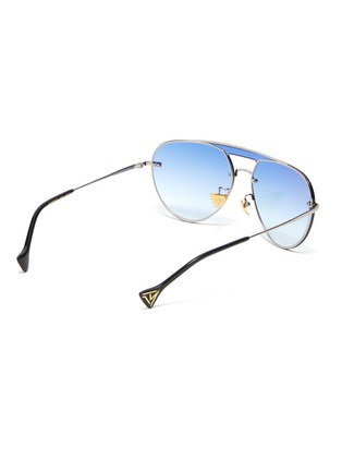 Figure View - Click To Enlarge - DONNIEYE - 'Faith' metal aviator sunglasses