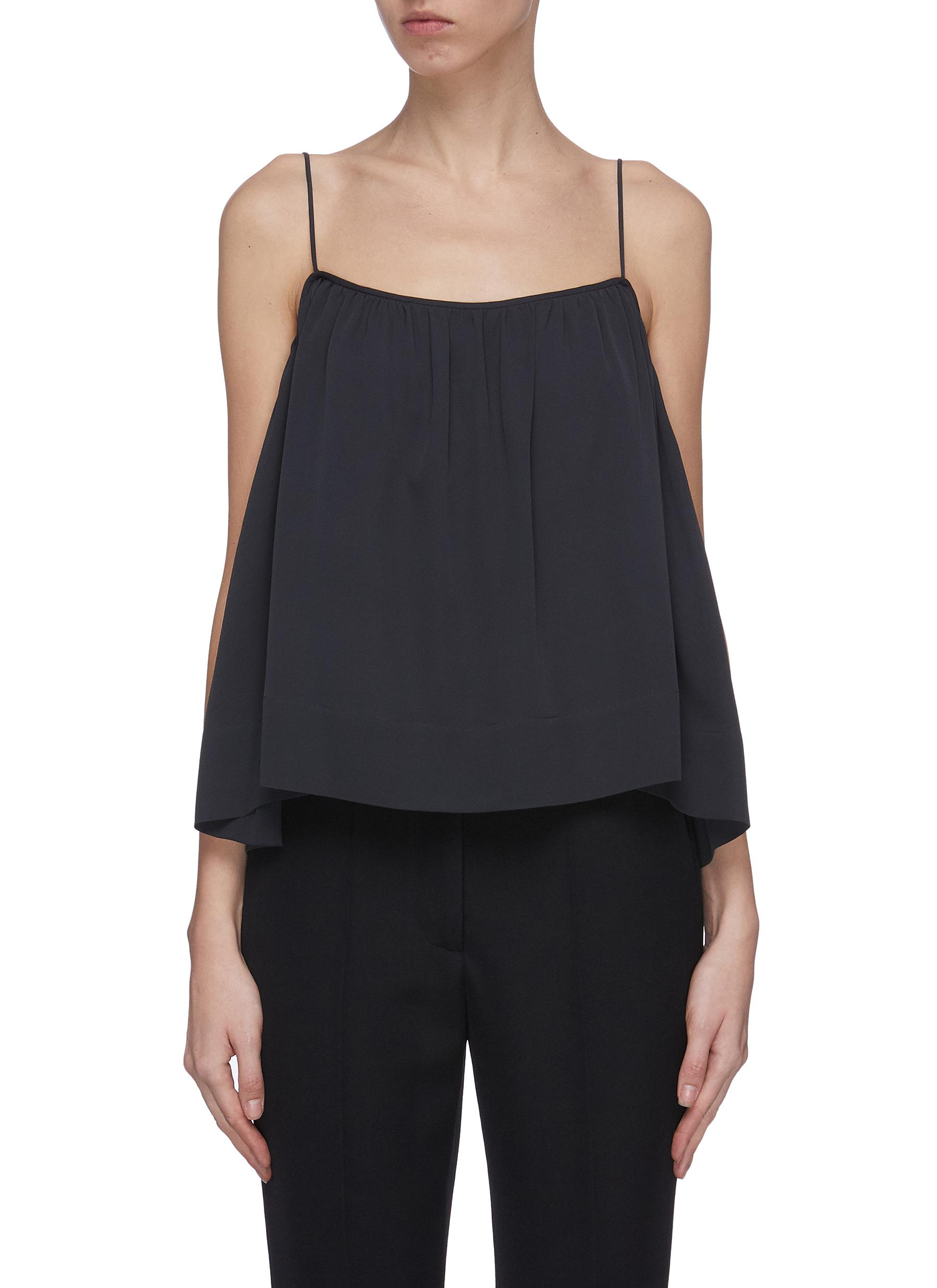 Buy The Row Tops 'Carmine' flared camisole top