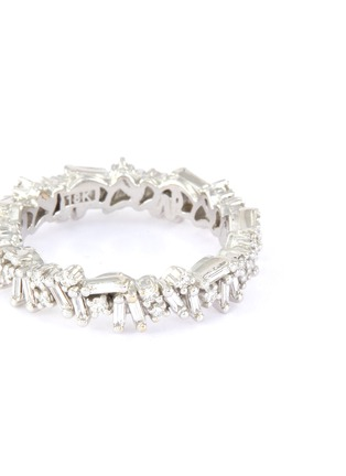 Figure View - Click To Enlarge - SUZANNE KALAN - 'Fireworks' diamond 18k white gold icon eternity ring