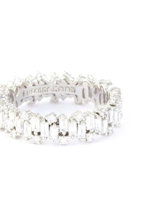 Figure View - Click To Enlarge - SUZANNE KALAN - 'Fireworks' diamond 18k white gold ring