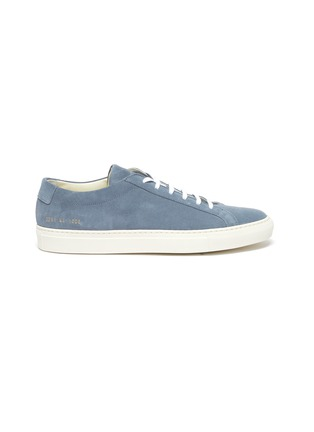 Main View - Click To Enlarge - COMMON PROJECTS - 'Original Achilles' suede leather sneakers