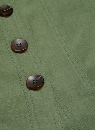 - C/MEO COLLECTIVE - Occurrence' button up belted dress