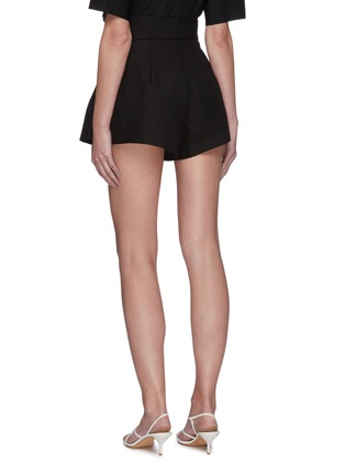 Back View - Click To Enlarge - C/MEO COLLECTIVE - Early On' belted paperbag shorts