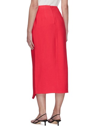 Back View - Click To Enlarge - C/MEO COLLECTIVE - Over Again' asymmetric midi skirt