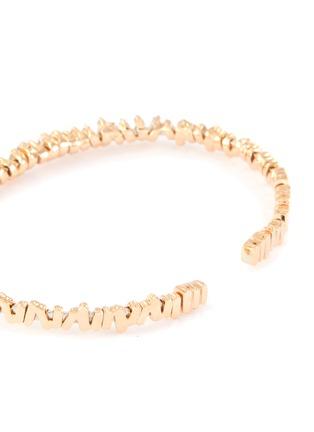 Figure View - Click To Enlarge - SUZANNE KALAN - 'Fireworks' diamond 18k rose gold bangle