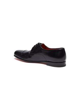 - SANTONI - 'Arizona' flexi leather derbies