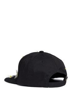 Piers Atkinson Swarovski crystal embellished daisy baseball cap