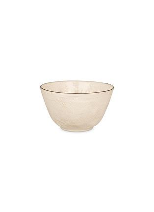 Main View - Click To Enlarge - BROSTE COPENHAGEN - Hessian large bowl