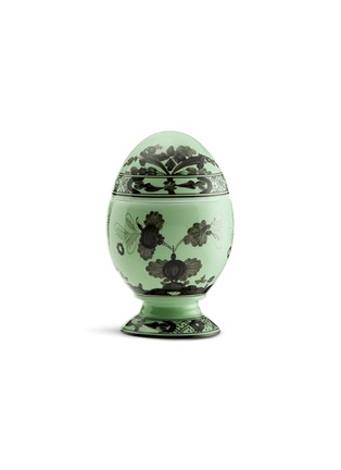Main View - Click To Enlarge - RICHARD GINORI - Oriente Italiano Porcelain Egg – 13.5cm – Bario
