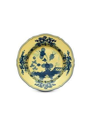 Main View - Click To Enlarge - GINORI 1735 - Oriente Italiano Porcelain Charger Plate – 31cm – Citrino