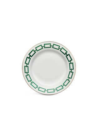Main View - Click To Enlarge - GINORI 1735 - Catene Porcelain Charger Plate – 31cm – Smeraldo