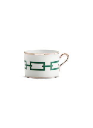 Main View - Click To Enlarge - RICHARD GINORI - Catene Porcelain Tea Cup – 220ml – Smeraldo