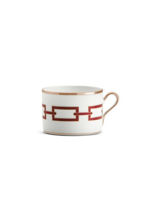 Main View - Click To Enlarge - RICHARD GINORI - Catene Porcelain Tea Cup – 220ml – Scarlatto