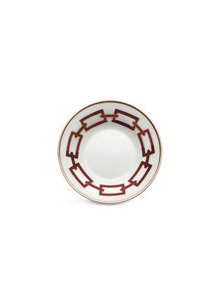 Main View - Click To Enlarge - GINORI 1735 - Catene Porcelain Tea Saucer – 13.5cm – Scarlatto
