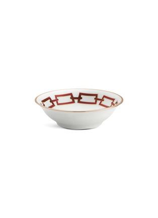 Main View - Click To Enlarge - GINORI 1735 - Catene Porcelain Fruit Bowl – Scarlatto