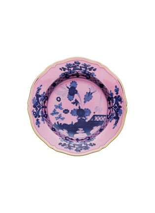 Main View - Click To Enlarge - RICHARD GINORI - Oriente Italiano Gold Charger Plate – 31cm – Azalea