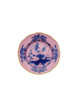 Main View - Click To Enlarge - RICHARD GINORI - Oriente Italiano Gold Flat Dessert Plate – 21cm – Azalea