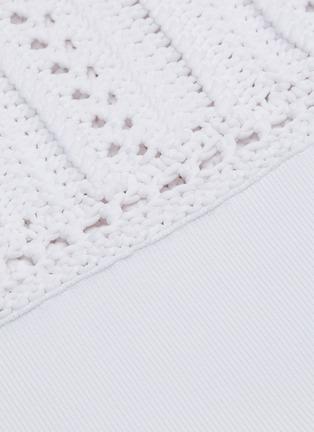 - 3.1 PHILLIP LIM - Crochet nylon tank top
