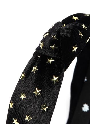 Detail View - Click To Enlarge - LELE SADOUGHI - Petite 14k gold plated star stud kids headband