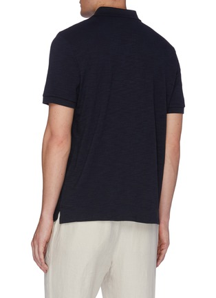 Back View - Click To Enlarge - VINCE - Classic Polo Shirt