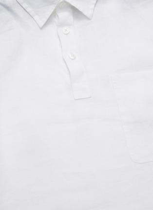 - VINCE - Long Sleeve Polo Shirt