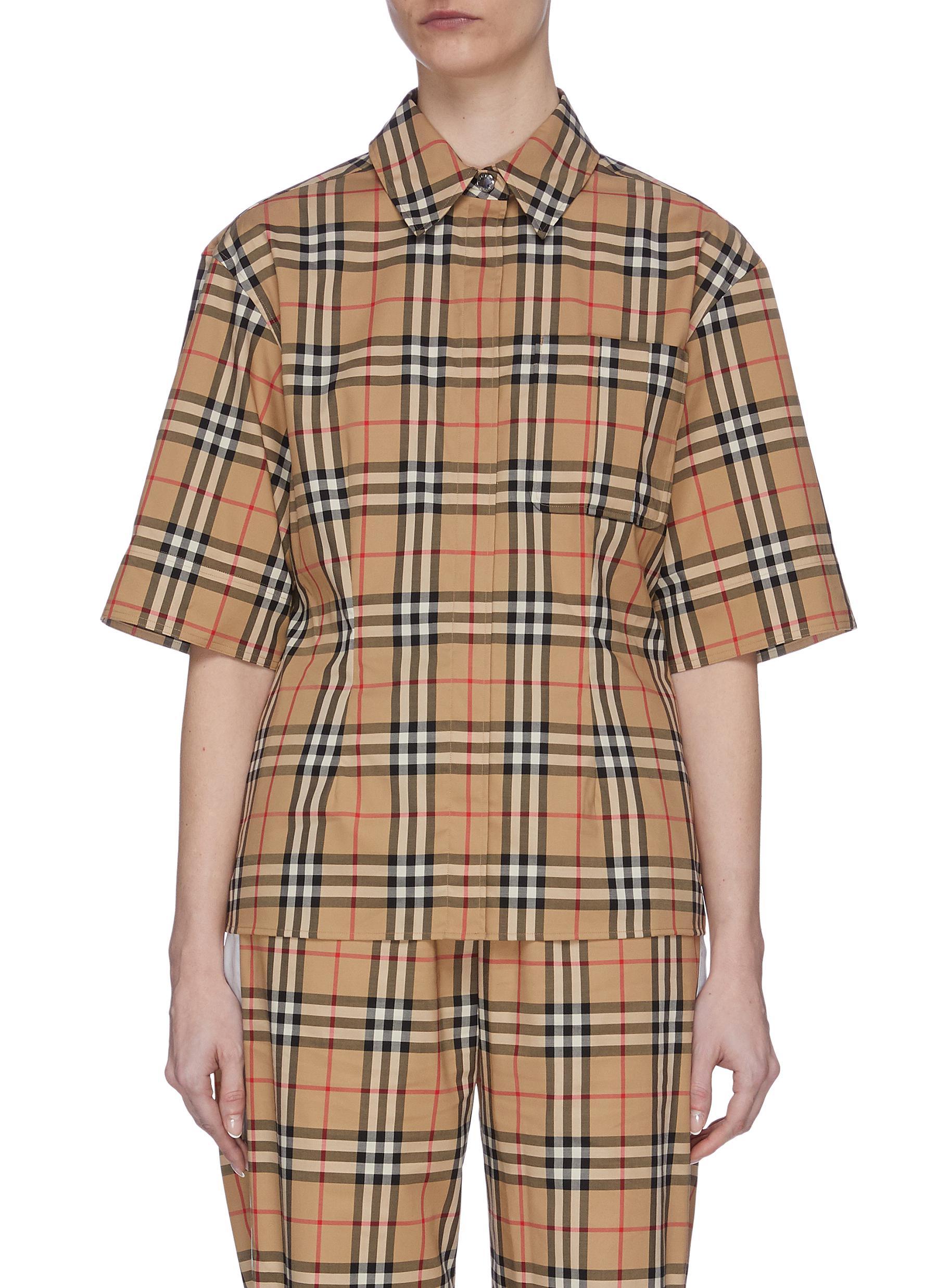 shop Burberry Vintage Check Shirt online