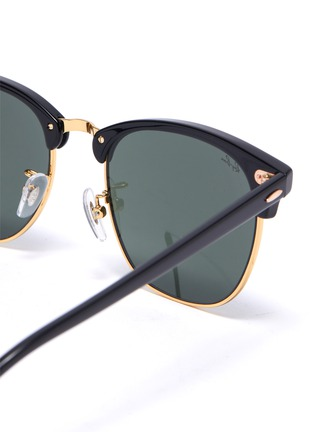 Detail View - Click To Enlarge - RAY-BAN - Clubmaster' acetate frame sunglasses