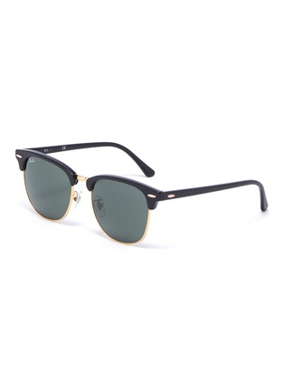 Main View - Click To Enlarge - RAY-BAN - Clubmaster' acetate frame sunglasses