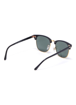 Figure View - Click To Enlarge - RAY-BAN - Clubmaster' acetate frame sunglasses