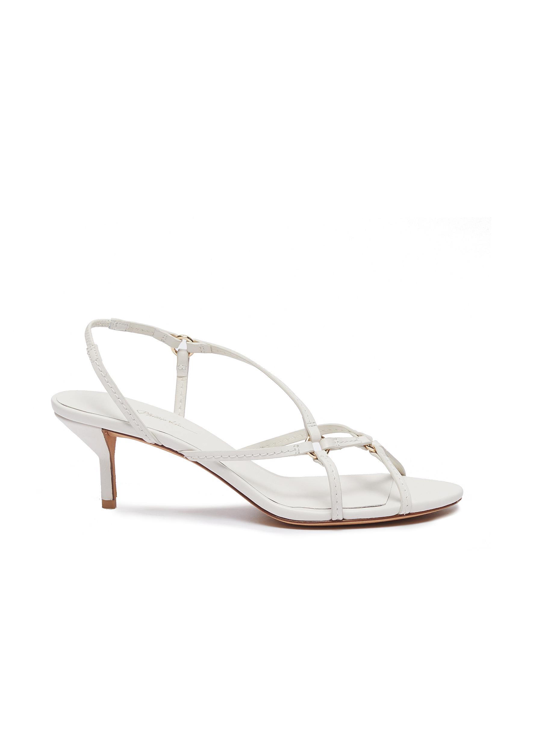 3.1 Phillip Lim Mid Heels Louise leather sandals