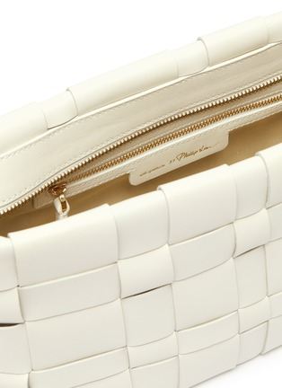 Detail View - Click To Enlarge - 3.1 PHILLIP LIM - 'Odita' woven lattice pouch