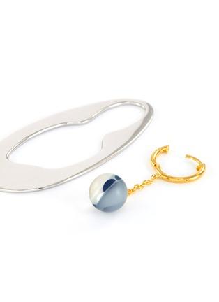 - EJING ZHANG - 'Tadema' resin drop earrings