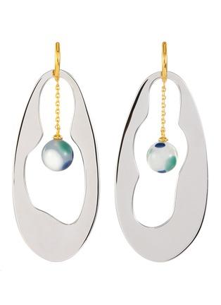 Main View - Click To Enlarge - EJING ZHANG - 'Tadema' resin drop earrings