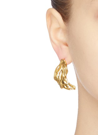Figure View - Click To Enlarge - EJING ZHANG - 'Avalon' pearl earrings