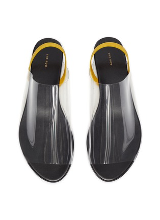 Detail View - Click To Enlarge - THE ROW - PVC slingback flats