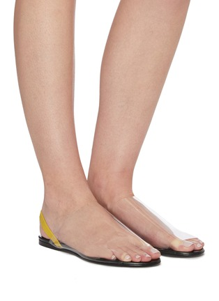 Figure View - Click To Enlarge - THE ROW - PVC slingback flats