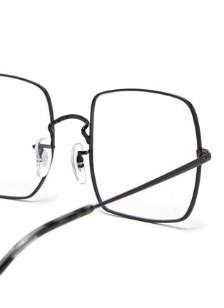 Detail View - Click To Enlarge - RAY-BAN - x Team Wang metal frame rectangular optical glasses