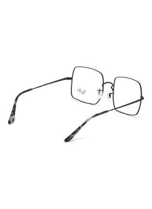 Figure View - Click To Enlarge - RAY-BAN - x Team Wang metal frame rectangular optical glasses