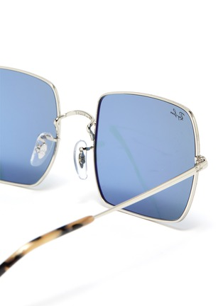 Detail View - Click To Enlarge - RAY-BAN - '1971 Classic' metal square frame sunglasses