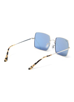 Figure View - Click To Enlarge - RAY-BAN - '1971 Classic' metal square frame sunglasses